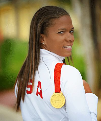April Holmes, Paralympic Gold Medalist, Track and Field
