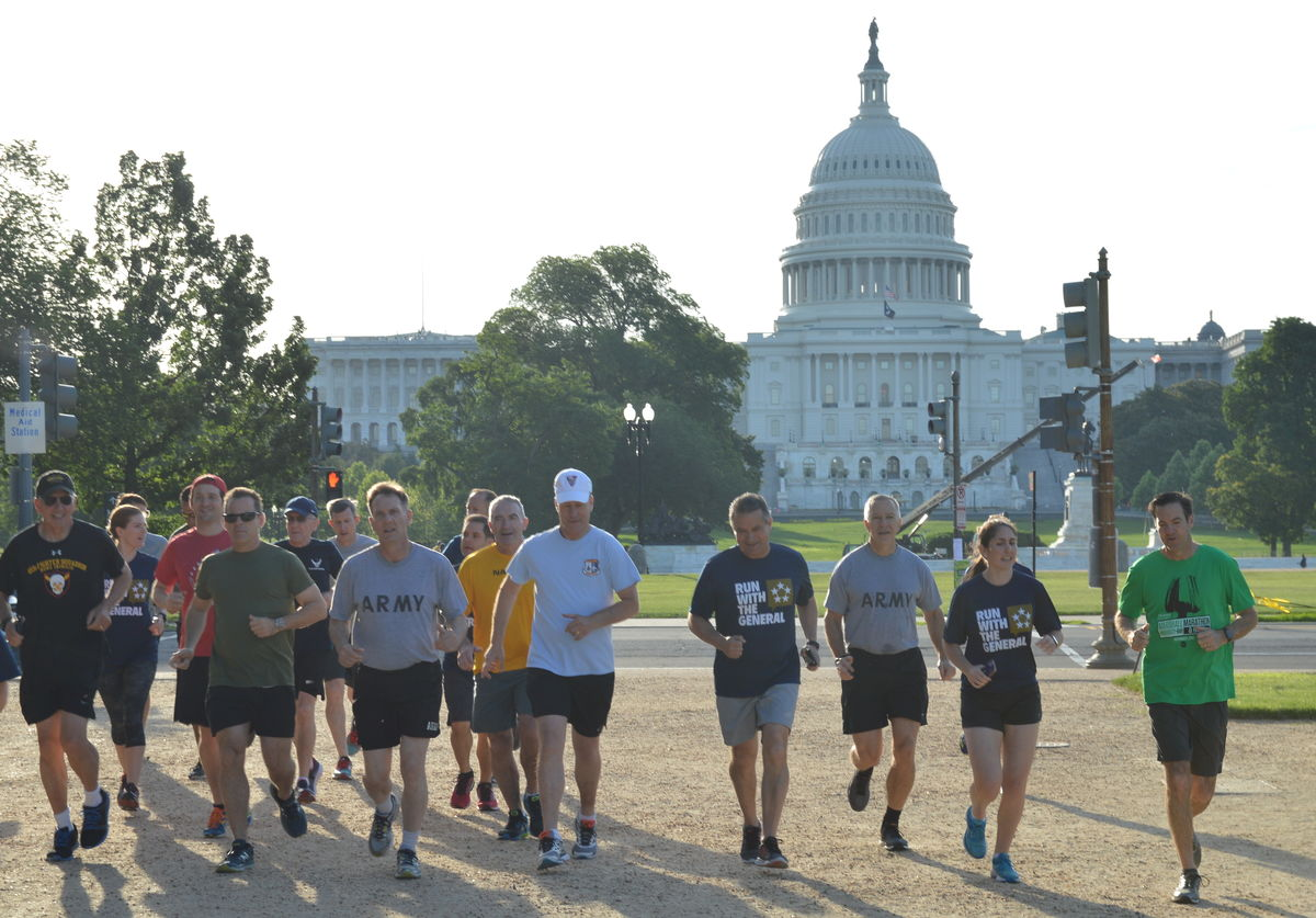 Run With General Capitol Photo