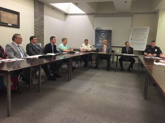 A community roundtable in Doylestown on May 4, 2018 with area state legislators and local officials to advocate for increased state investment in high-quality pre-k programs.