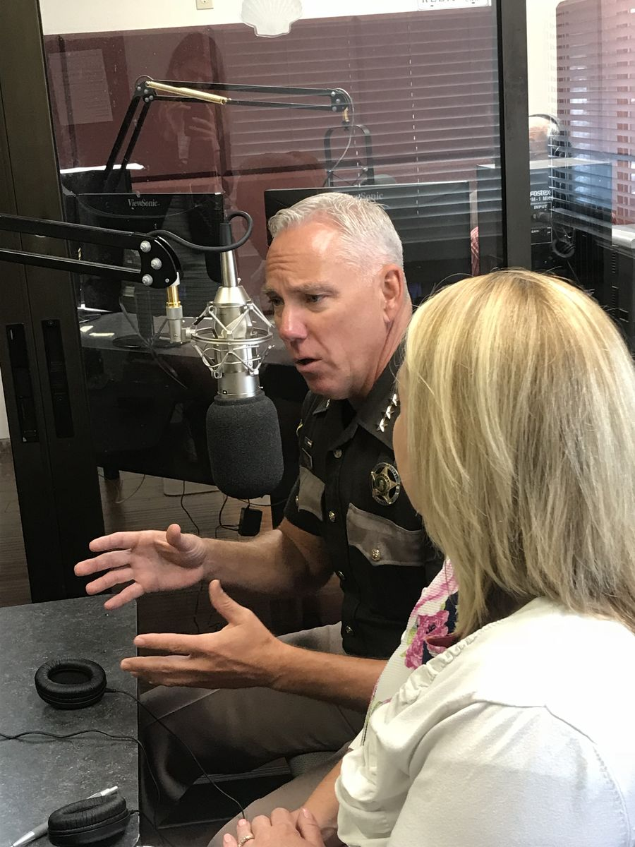 Sheriff Snaza Radio Interview July 2018 ECE Approps
