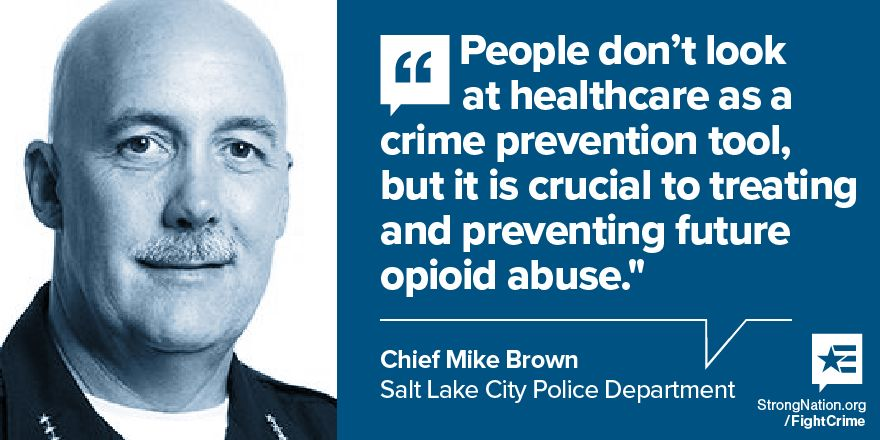 Chief Mike Brown of Salt Lake City Police Department