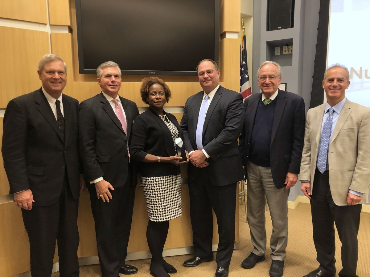 Tufts award group photo