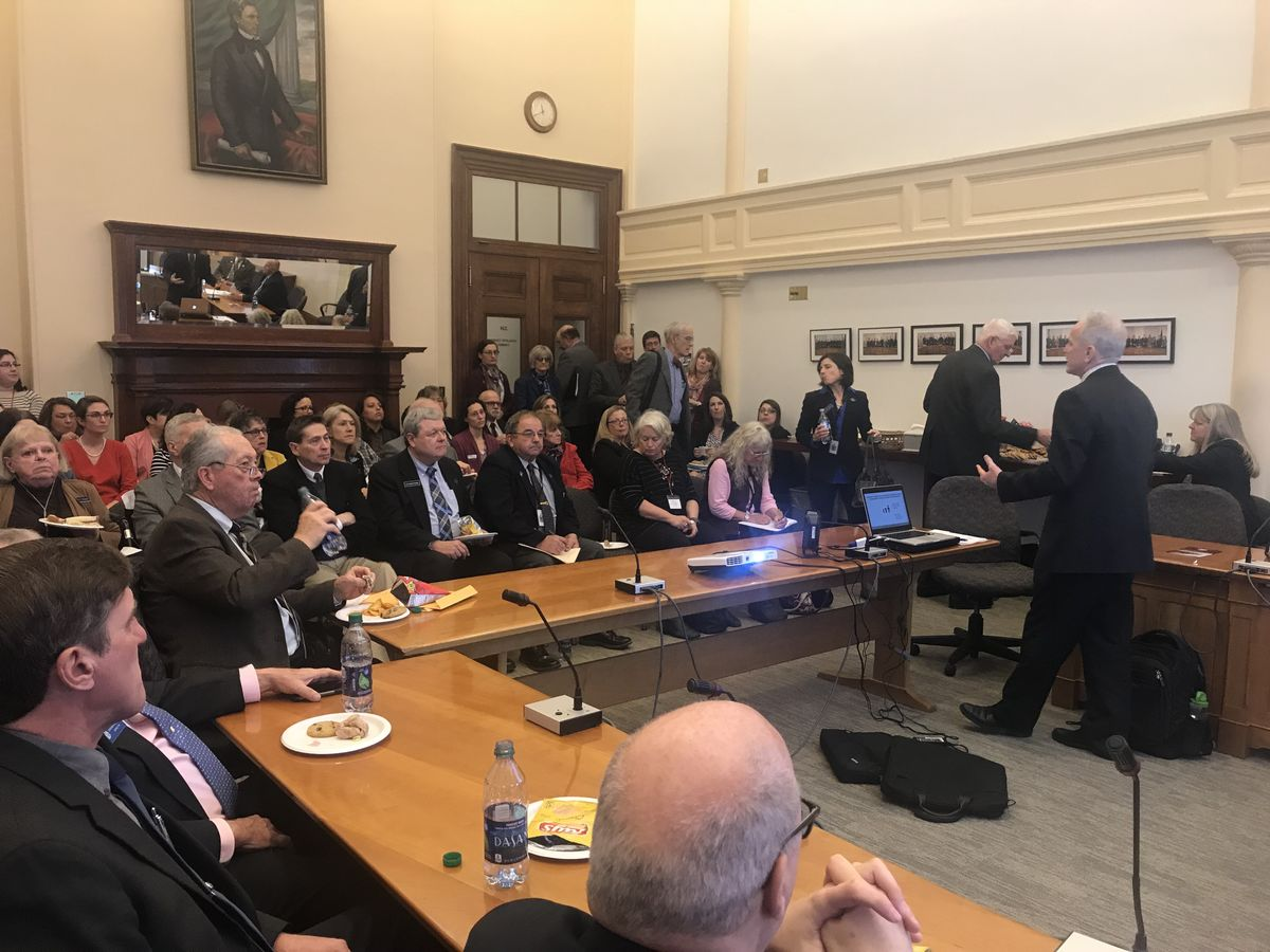Al Race, Deputy Director and Chief Knowledge Officer at Harvard University's Center for the Developing Child, led a briefing for Maine's bipartisan Legislative Children's Caucus.