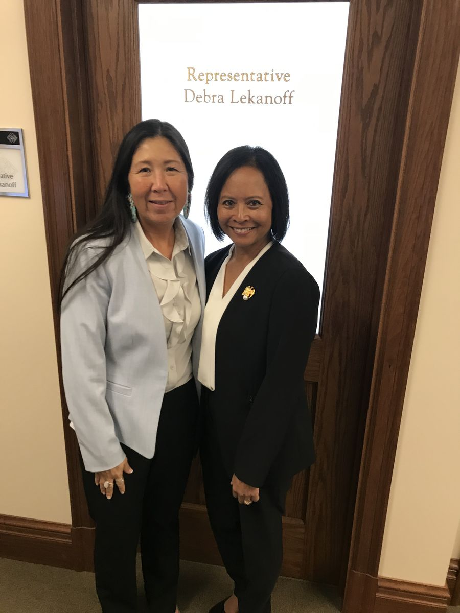 ear Admiral (Ret.) Eleanor Valentin met with Washington State Rep. Debra Lekanoff to discuss the importance of investments in ECEAP and expanded learning opportunities.