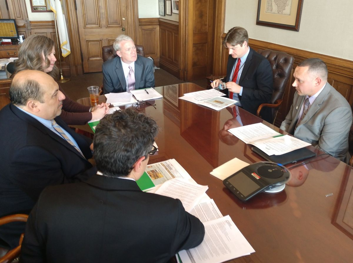 ReadyNation Illinois members met with House Minority Leader Jim Durkin