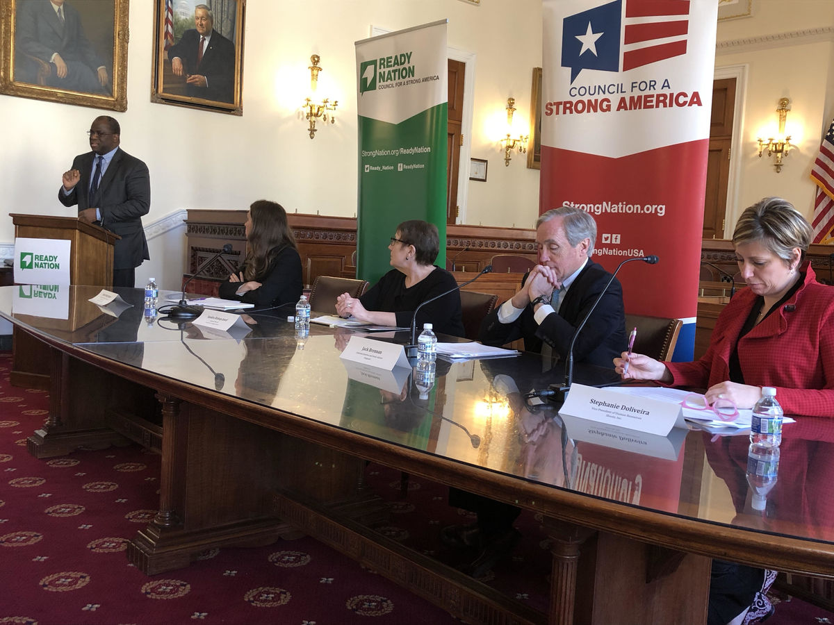 2019 ReadyNation / Council for a Strong America Child Care Briefing Panel
