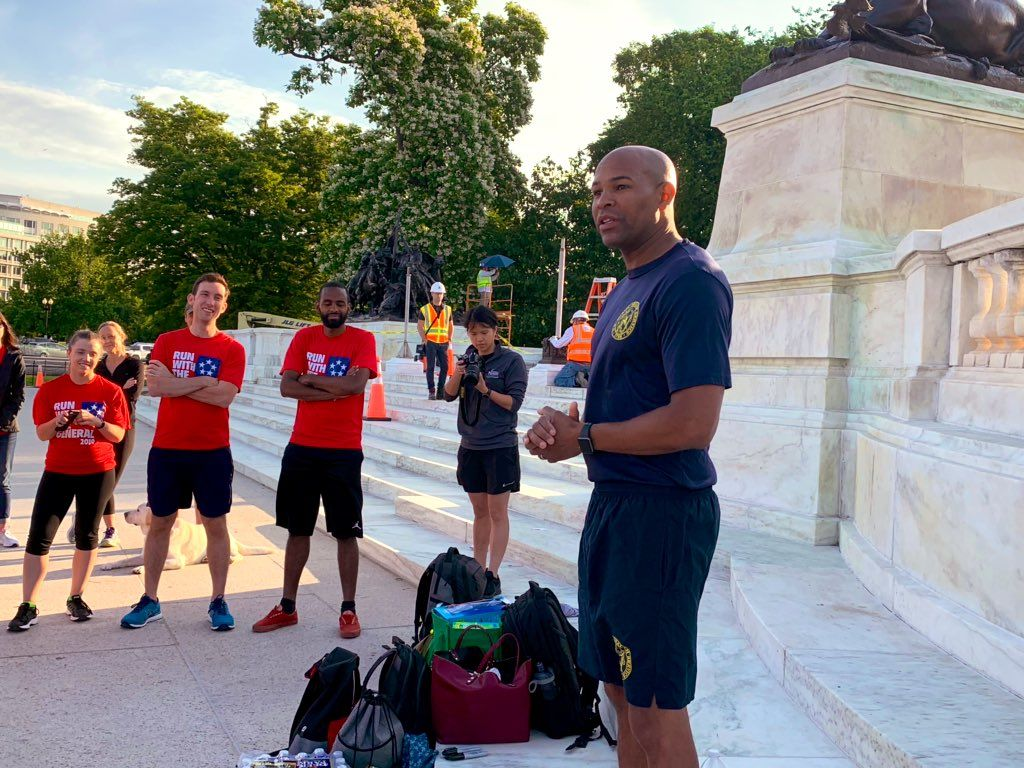 Run With General 2019_Surgeon General Jerome Adams