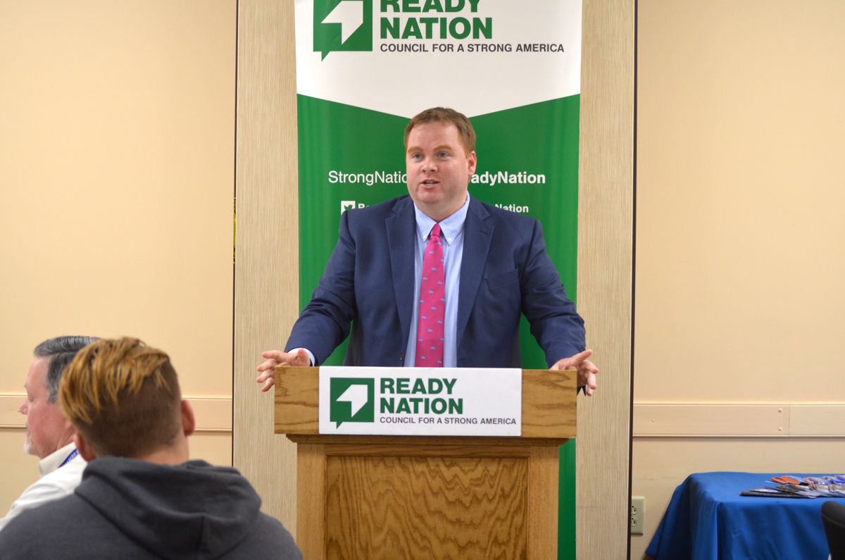 ReadyNation member Jason Judd, Executive Director of Educate Maine