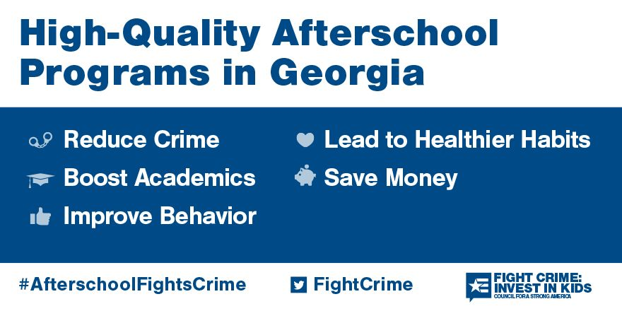 Afterschool programs in Georgia