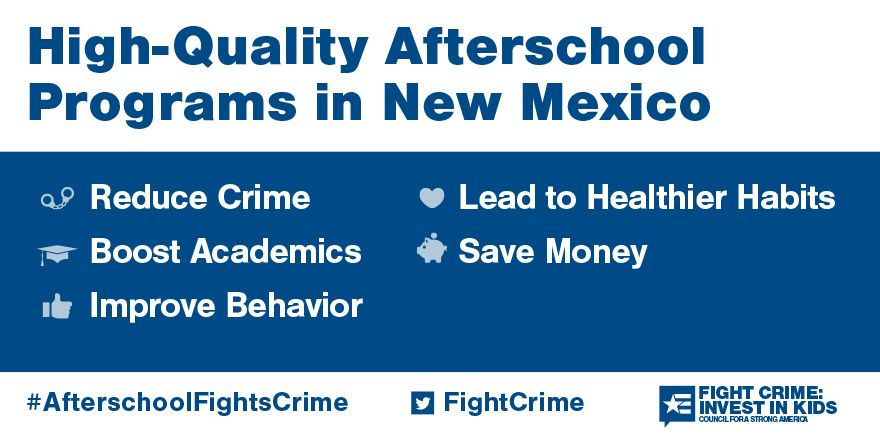 Quality afterschool programs in New Mexico