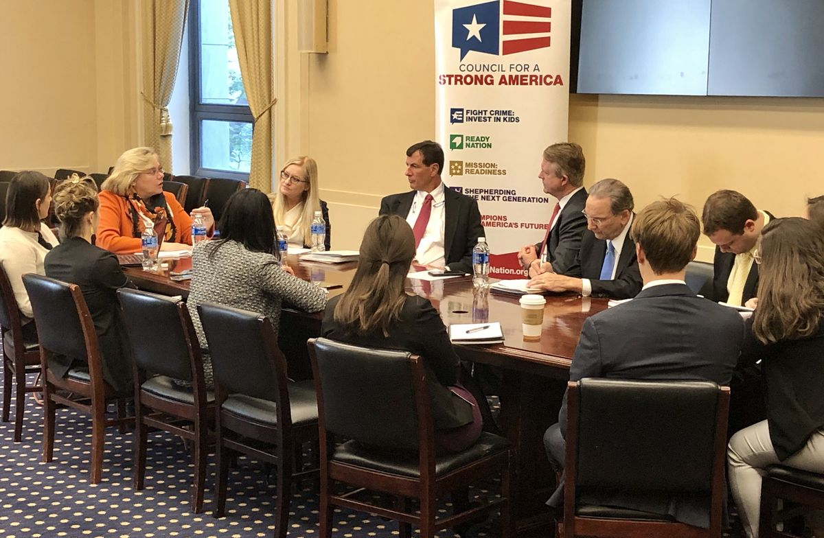 ReadyNation Capitol Hill roundtable event on child care