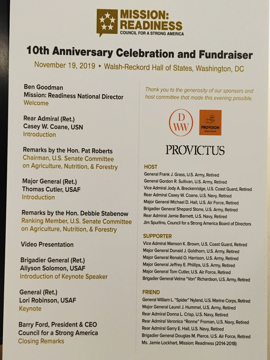 MR Anniversary sponsors