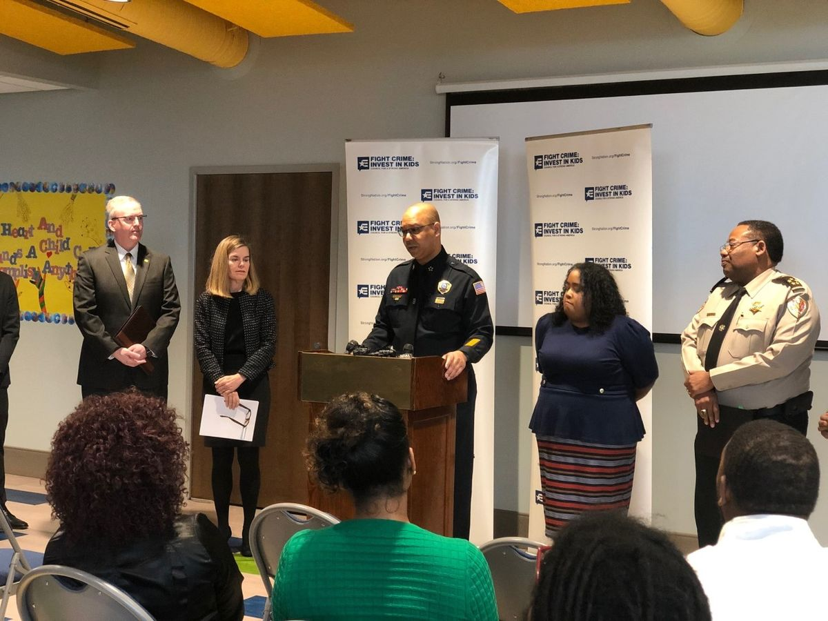 Shelby County and Memphis law enforcement and area lawmakers