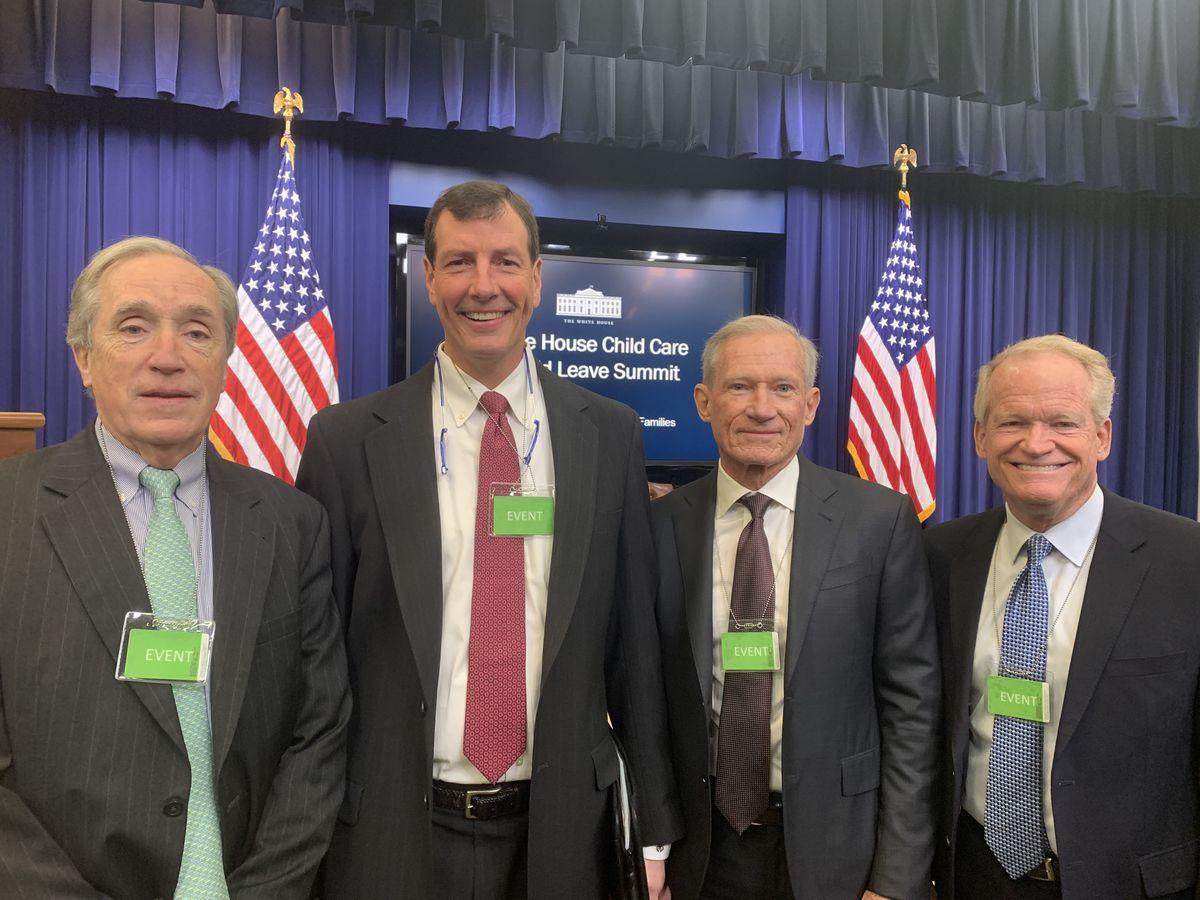 Readynation members Jack Brennan, Barry Downing, Jim Sorenson, and Jack McBride