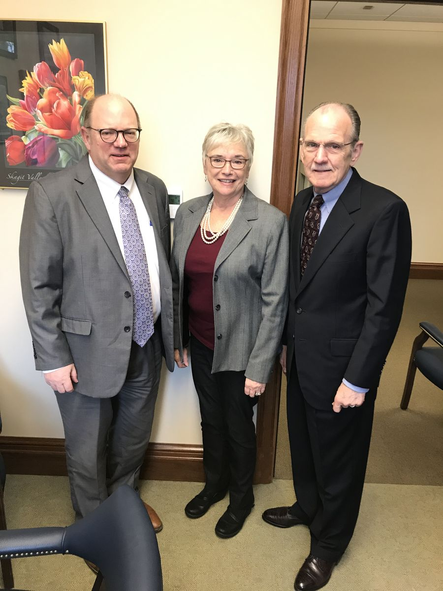 Michael Cade, Rep. Carolyn Eslick, Assistant Ranking Minority Member of the House Human Services & Early Learning Committee, and David Graybill discussed early learning as an economic development tool.