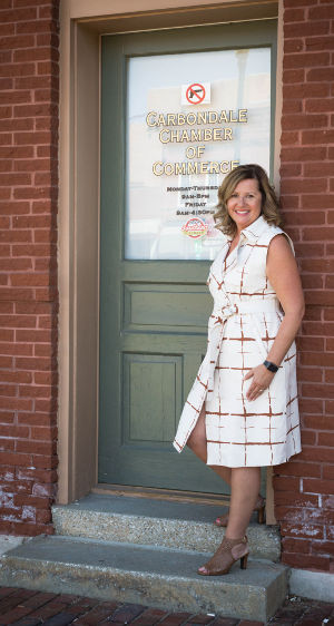 Jennifer Olson, President & CEO of the Carbondale Chamber of Commerce