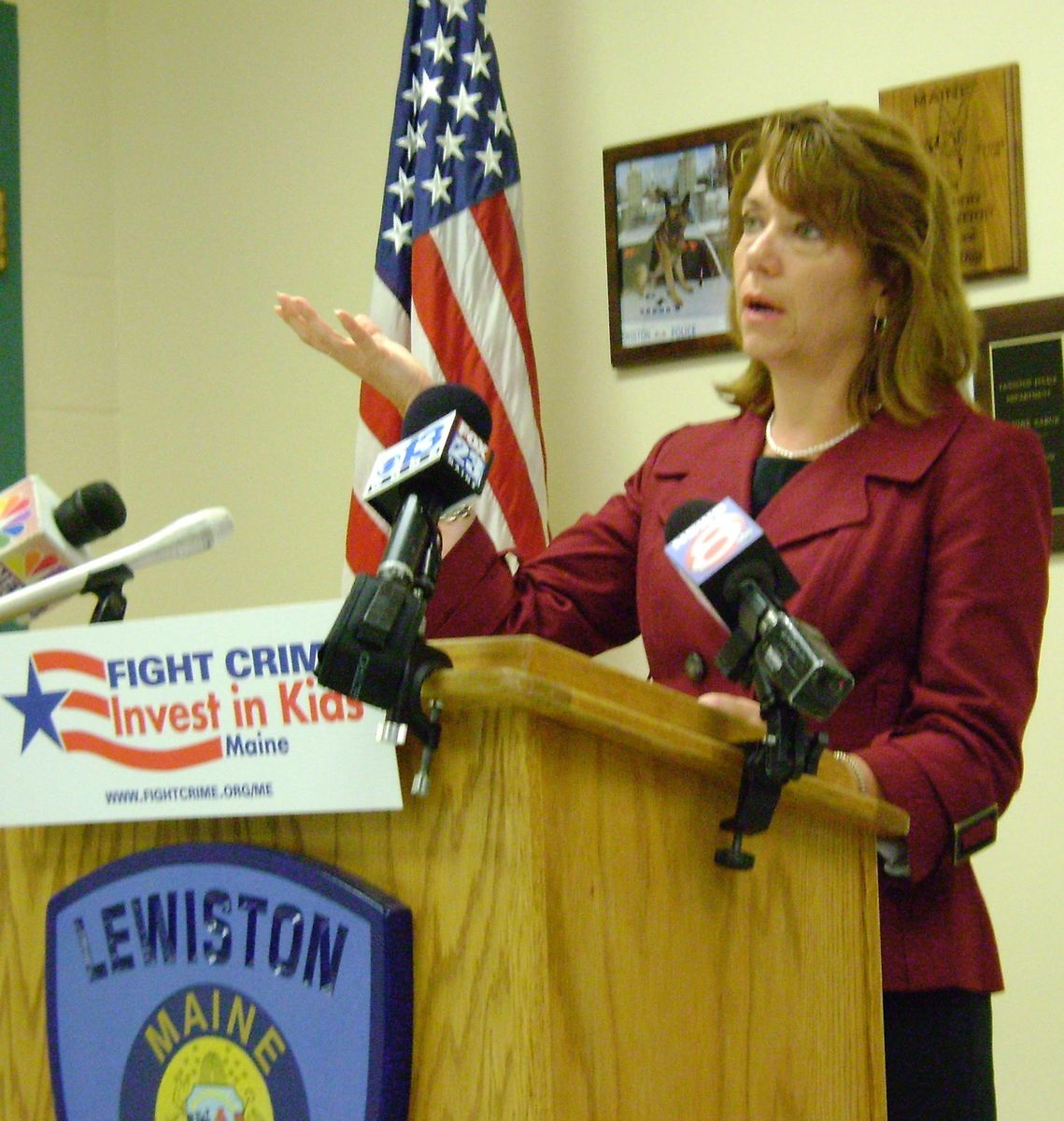 July 14, 2009: Lewiston Maine press conference on increasing the federal CTC