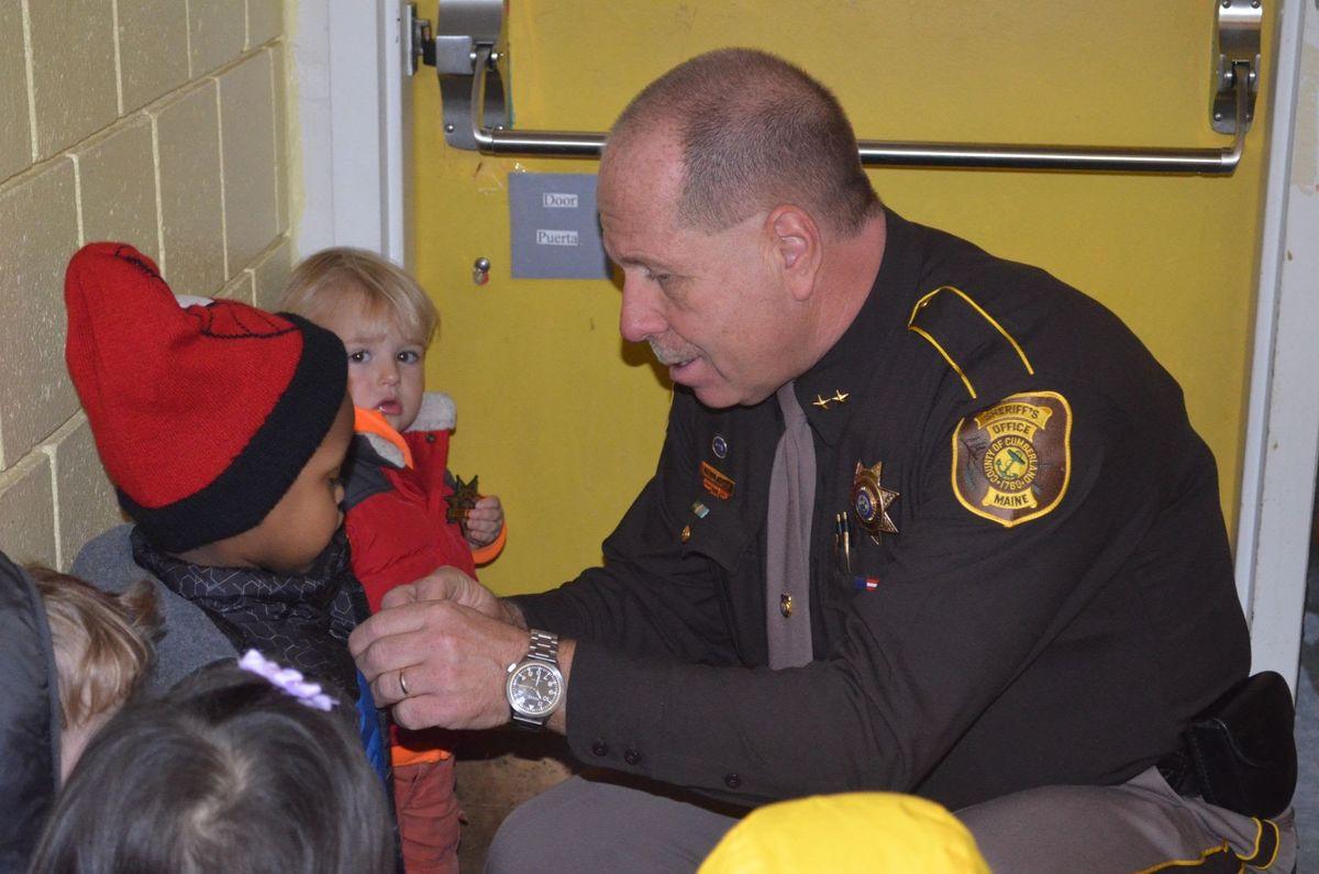 Cumberland County Sheriff Kevin Joyce in Portland