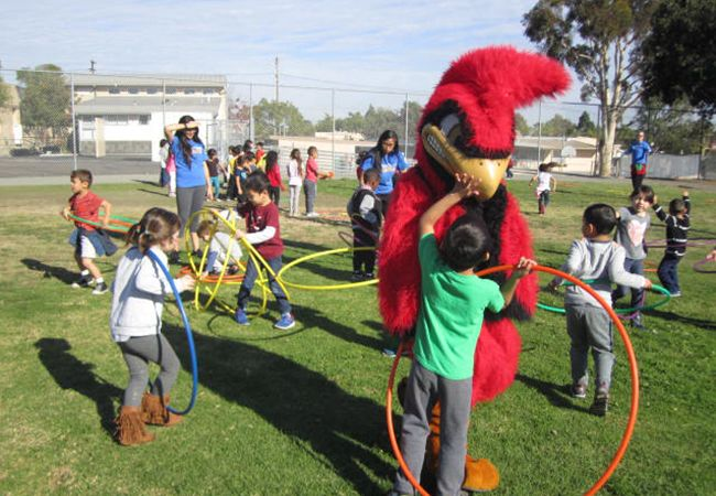 Mission: Readiness California physical activity event at Franklin Elementary School