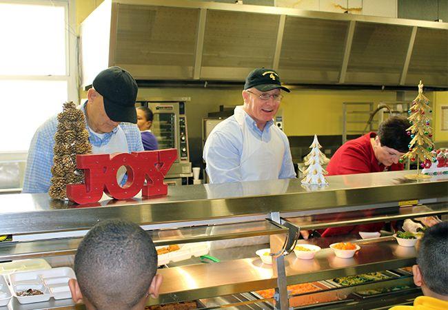 Healthy school lunch meals tour slideshow