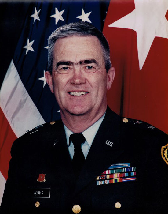 Major General Earl Adams, U.S. Army (retired) and former Maine Adjutant General