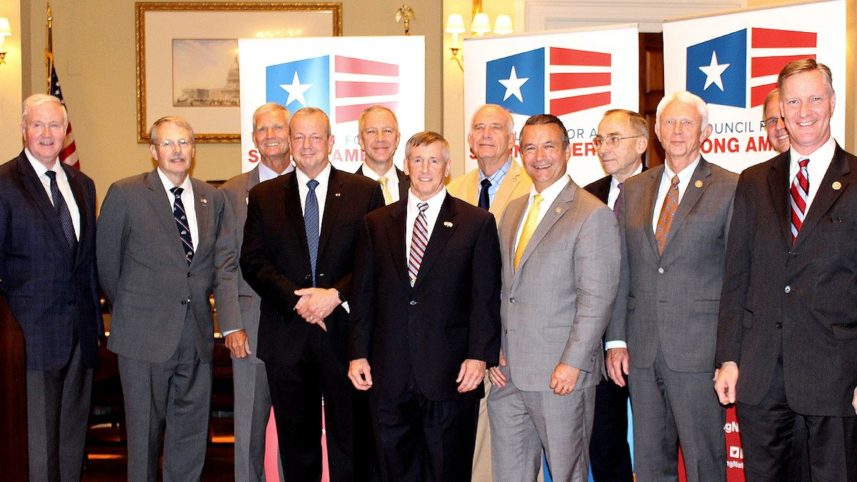 Ten retired generals and admirals, who are members of Mission: Readiness, honor U.S. Representatives Jack Bergman, Steve Stivers, and Don Bacon for their service in the military and in Congress