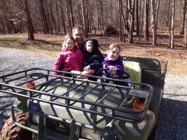 BG Williams Farm with Grandchildren