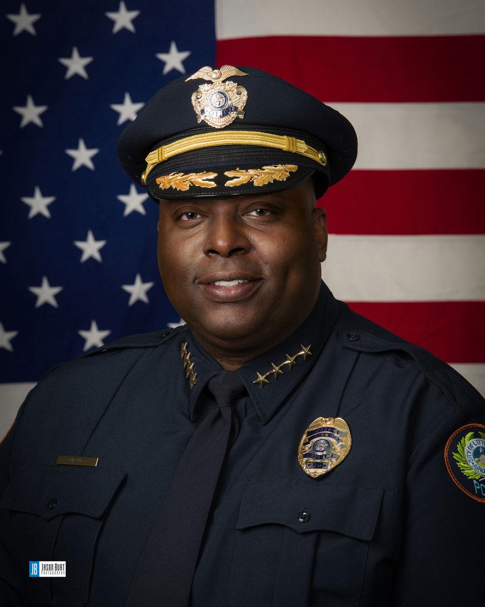Chief Kenton Buckner of Little Rock Police Department